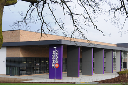 Central Bedfordshire council's new leisure centre