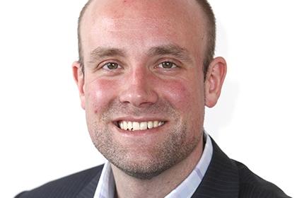 Headshot of Joel Brookfield, Sport England staff