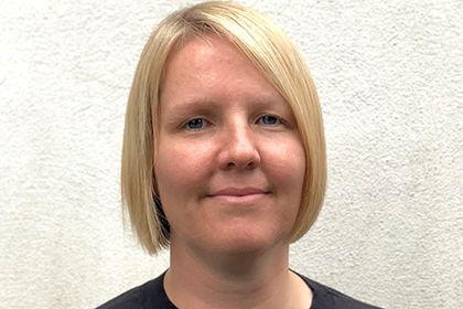 Headshot of Alison Donnelly, Sport England's executive director for Digital, Marketing and Communications