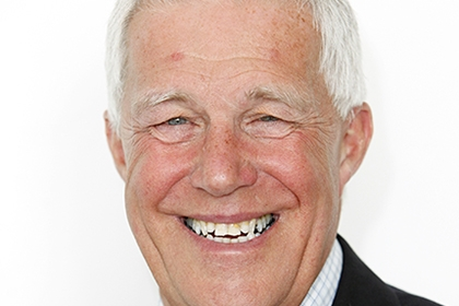 Headshot of Charles Johnston, Sport England's executive director of property