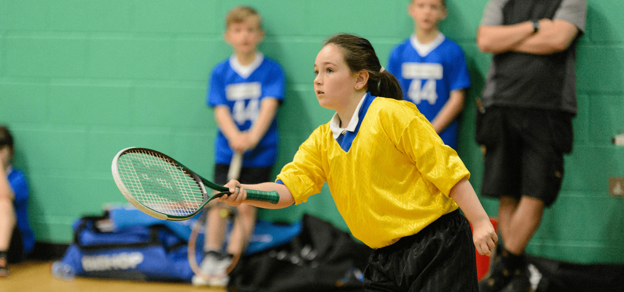 Safeguarding tennis face of concentration