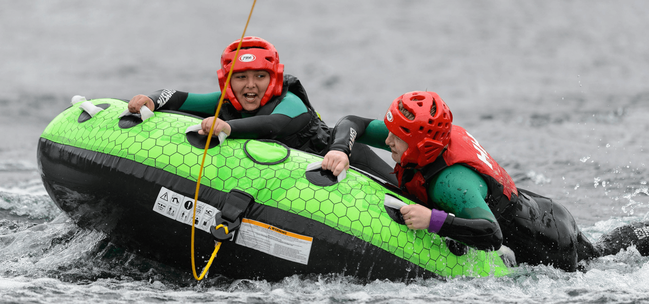 Safeguarding watersports holding on to ring