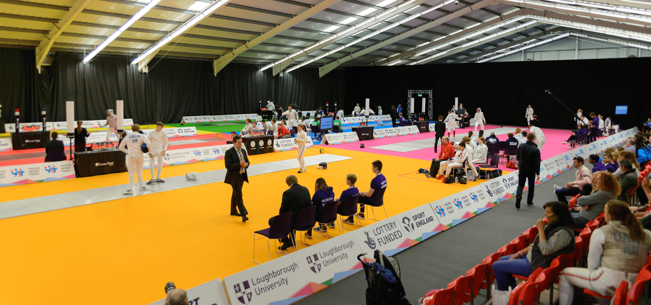Sports facility for school games