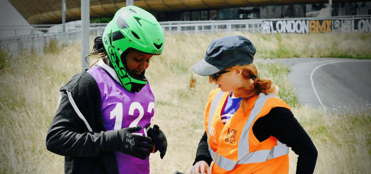 Volunteering Funds BMX