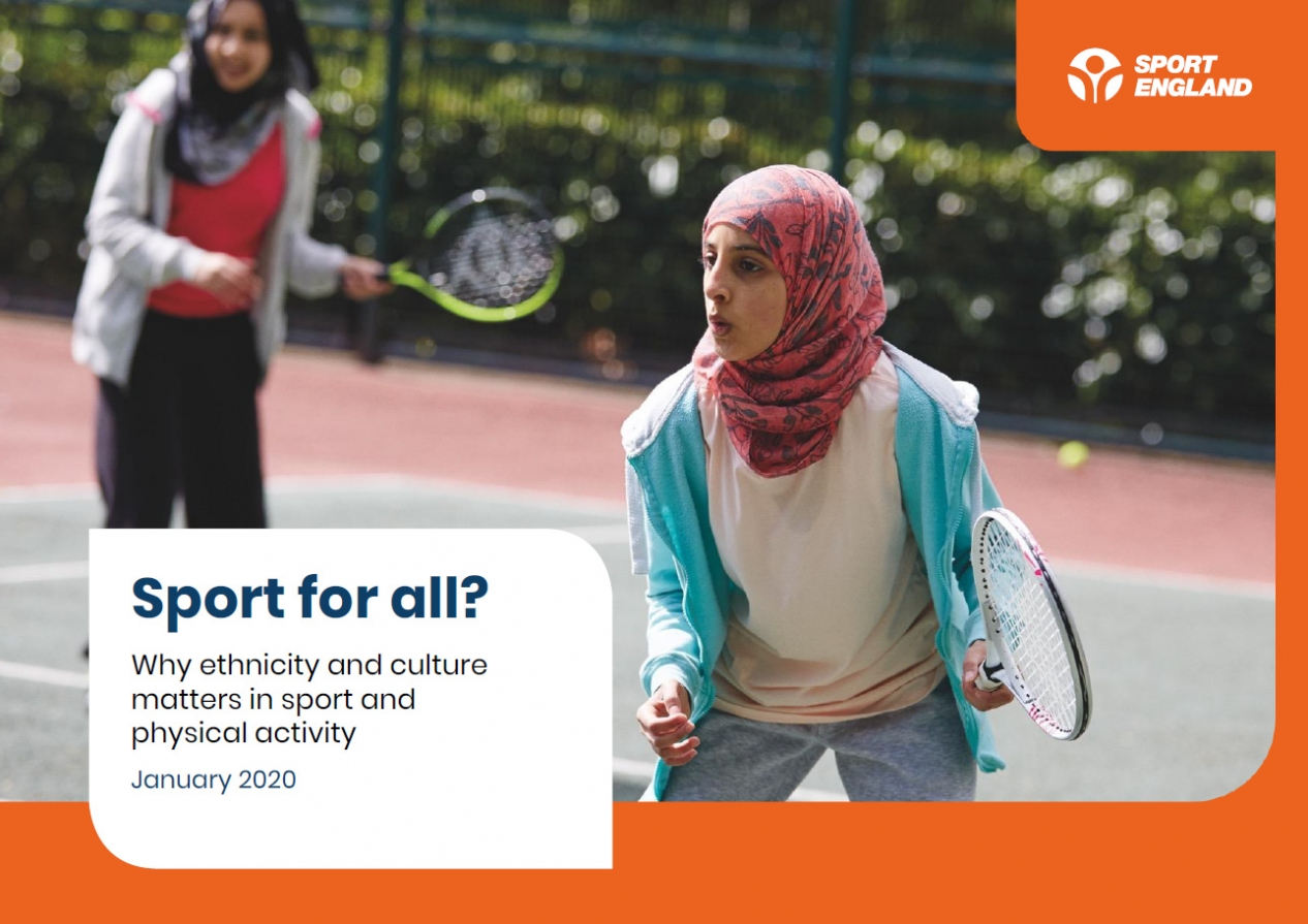 Sport For All cover 2020