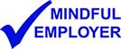 Mindful employer logo in blue