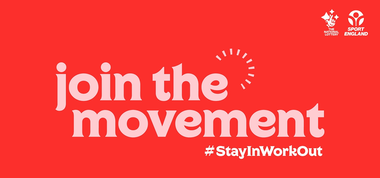 join the movement banner - with lockup logo