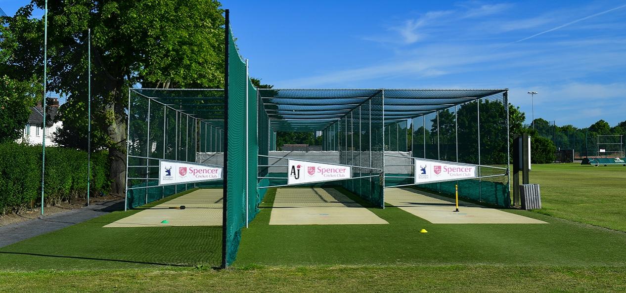 Closed cricket nets