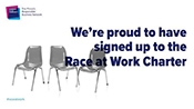 An image showing Sport England is a signatory of the Race at Work Charter