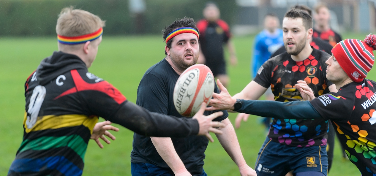 A Village Spartans Rugby Club training session