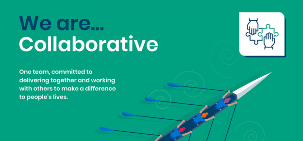 'We are collaborative' is one of our values